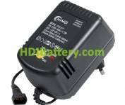 Cargador para Pack baterías de 1,2V a 12V Ni-Cd/NI-MH