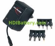 Cargador de Pack de baterías Ni-Cd y Ni-MH 4,8V a 9,6V (4 a 8 células)