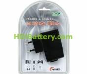 Cargador Alimentador 100-240Vca / USB 5Vcc-1000mA