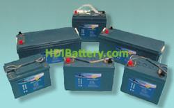 Batería para barco de gel marina HAZE 12v 44Ah HZY-MR12-44