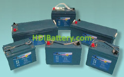 Batería para barco de gel marina HAZE 12v 135Ah HZY-MR12-135