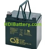 Bateria de Plomo EVH12390 CSB 12 Voltios 39 Amperios