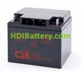 Bateria de Plomo GP12400 CSB 12 Voltios 40 Amperios