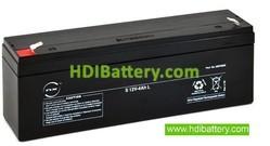 Batería para UPS-SAI 12v 4Ah plomo AGM Nx Medida especial