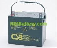 Bateria de Plomo EVX-12750 CSB 12 Voltios 75 Amperios