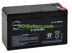 Batería para Alarma 12v 8,5Ah Plomo Agm alta descarga