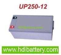 Batería para Caravana 12v 250ah Plomo AGM Monoblock hemetico ciclo profundo