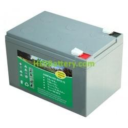 Batería para carro de golf 12v 12ah Gel HZY-EV12-12 HAZE