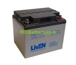 Batería para moto electrica 12v 40ah Gel Puro LEVG40-12 LIVEN