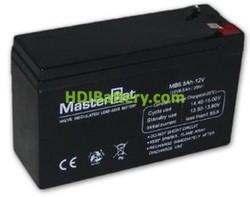 Bateria de Plomo 12 Voltios 6.5 Amperios (151x50x94mm)