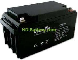 Bateria de Plomo 12 Voltios 65 Amperios 350x167x173mm