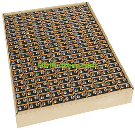Pila Alcalina Duracell Industrial 6LR61 9 Voltios Bandeja de 200 Pilas MN1604