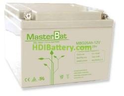 Bateria 12 Voltios 26 Amperios Gel