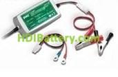 Cargador de 12 voltios 1.5 amperios para baterias de plomo Gel Agm Vrla