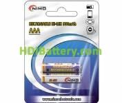 Batería recargable cilíndrica NI-MH AAA/RC03