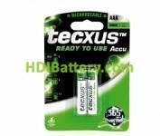 Batería recargable cilíndrica NI-MH