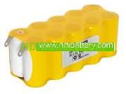 Pack de baterías 12V/2000mAh Ni-Cd