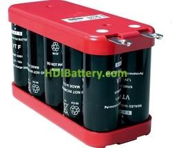 Pack de baterías 12V 7000mAh Ni-Cd VTFCD X 10 SAFT
