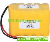 Pack de baterías 18V-1000mAh Ni-Cd