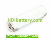 Pack de baterías 2,4V/1500mAh Ni-Cd.