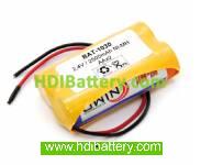 Pack de baterías 2,4V-2500mAh NI-MH