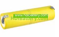 Pack de baterías 2,4V/4000mAh Ni-Cd.
