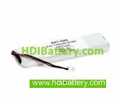 Pack de baterías 2,4V-600mAh NI-MH