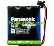 Pack de baterías 3,6V-1000mAh Ni-Cd.