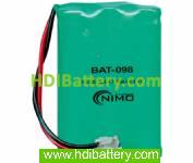 Pack de baterías 3,6V-700mAh NI-MH