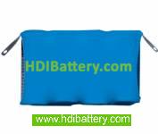 Pack de baterías 4,8V-150mAh Ni-Cd