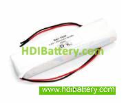 Pack de baterías 4,8V-2500mAh NI-MH