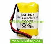 Pack de baterías 4,8v/250mAh NI-MH