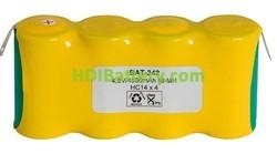 Pack de baterías 4,8V/4500mAh NI-MH RCMH4500 x 4