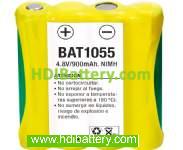 Pack de baterías 4,8V/900mAh