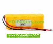 Pack de baterías 6V/2000mAh Ni-Cd.