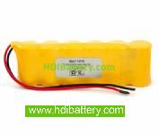 Pack de baterías 7,2V/2000mAh Ni-Cd.