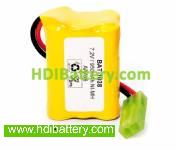 Pack de baterías 7,2V/950mAh NI-MH