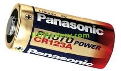 Panasonic CR123 3V 1400mAh Batería Litio No Recargable