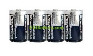 Pila Alkalina Panasonic Power Line LR14AR ( C )1,5v 4 unidades