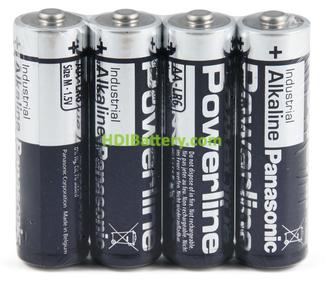 Pila Alkalina Panasonic Power Line LR6AR (AA)1,5v 4 unidades