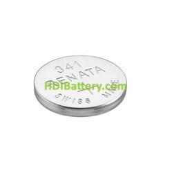 Pila de boton oxido plata SR714SW V341