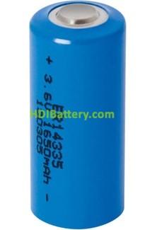 Pila de Litio ER14335 3,6V 14,5x33,5mm