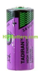 Pila litio industria SL761/S 2/3AA 3.6V 1.5Ah