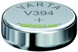 Pila para Relojes Oxido de Plata SR936SW, SR45SW, RW335, V394 Blister de 10 unidades Varta