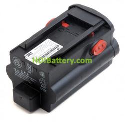Reconstrucción batería Hilti 36v 5ah BP36 T6 cambio a litio + cargador DOBLE AUTONOMÍA