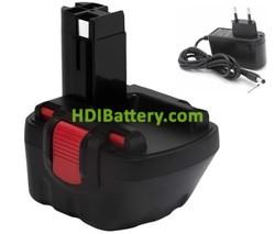 Reconstrucción bateria taladro a litio 12v 2500mah + cargador